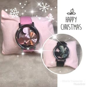New Pink or Black Mickey Watch's